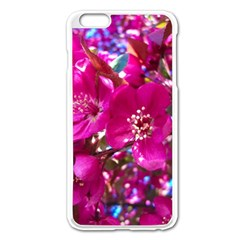 Pretty In Fuchsia 2 Apple Iphone 6 Plus/6s Plus Enamel White Case by dawnsiegler
