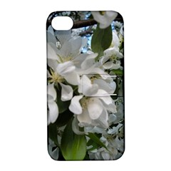 Pure And Simple Apple Iphone 4/4s Hardshell Case With Stand by dawnsiegler