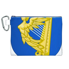 Coat Of Arms Of Ireland, 17th Century To The Foundation Of Irish Free State Canvas Cosmetic Bag (xl) by abbeyz71