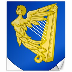 Coat Of Arms Of Ireland, 17th Century To The Foundation Of Irish Free State Canvas 8  X 10  by abbeyz71