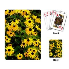 Walking Through Sunshine Playing Card by dawnsiegler
