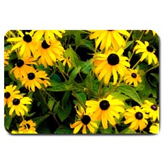 Walking Through Sunshine Large Doormat  by dawnsiegler