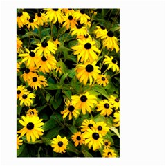 Walking Through Sunshine Small Garden Flag (two Sides) by dawnsiegler