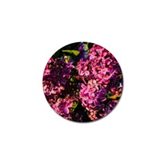 Lilacs Golf Ball Marker
