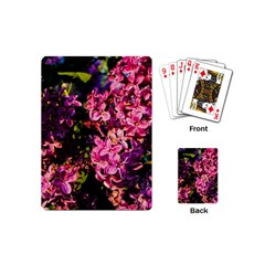Lilacs Playing Cards (mini)  by dawnsiegler