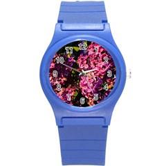 Lilacs Round Plastic Sport Watch (s) by dawnsiegler
