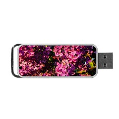 Lilacs Portable Usb Flash (one Side) by dawnsiegler