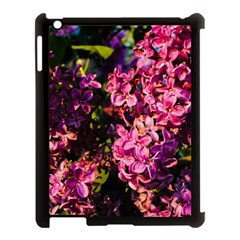 Lilacs Apple Ipad 3/4 Case (black) by dawnsiegler