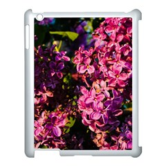 Lilacs Apple Ipad 3/4 Case (white) by dawnsiegler