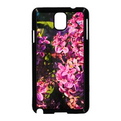 Lilacs Samsung Galaxy Note 3 Neo Hardshell Case (black) by dawnsiegler