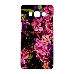 Lilacs Samsung Galaxy A5 Hardshell Case  by dawnsiegler