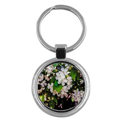 Tree Blossoms Key Chains (round)  by dawnsiegler