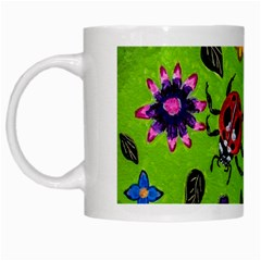 Lucky Ladies White Mugs by dawnsiegler