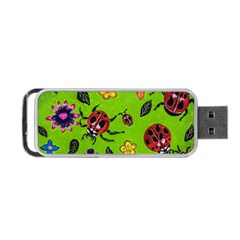 Lucky Ladies Portable Usb Flash (one Side) by dawnsiegler