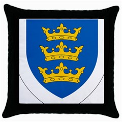 Lordship Of Ireland Coat Of Arms, 1177 1542 Throw Pillow Case (black) by abbeyz71
