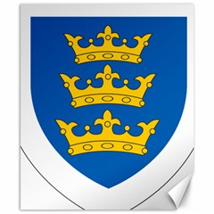 Lordship Of Ireland Coat Of Arms, 1177 1542 Canvas 8  X 10  by abbeyz71