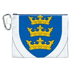 Lordship Of Ireland Coat Of Arms, 1177 1542 Canvas Cosmetic Bag (xxl) by abbeyz71