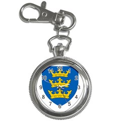 Lordship Of Ireland Coat Of Arms, 1177 1542 Key Chain Watches by abbeyz71