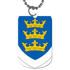 Lordship Of Ireland Coat Of Arms, 1177 1542 Dog Tag (one Side) by abbeyz71