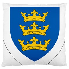 Lordship Of Ireland Coat Of Arms, 1177 1542 Large Flano Cushion Case (two Sides) by abbeyz71
