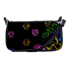 Floral Rhapsody Pt 1 Shoulder Clutch Bags by dawnsiegler