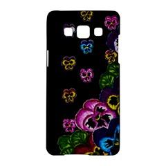 Floral Rhapsody Pt 1 Samsung Galaxy A5 Hardshell Case  by dawnsiegler