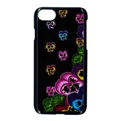 Floral Rhapsody Pt 1 Apple Iphone 7 Seamless Case (black) by dawnsiegler