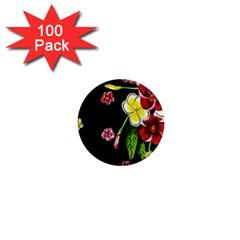 Floral Rhapsody Pt 2 1  Mini Magnets (100 Pack)  by dawnsiegler
