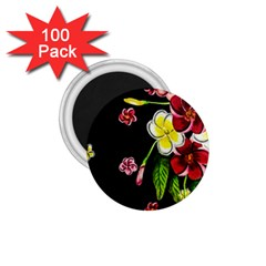 Floral Rhapsody Pt 2 1 75  Magnets (100 Pack)  by dawnsiegler