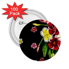 Floral Rhapsody Pt 2 2 25  Buttons (100 Pack)  by dawnsiegler