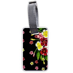 Floral Rhapsody Pt 2 Luggage Tags (one Side)  by dawnsiegler