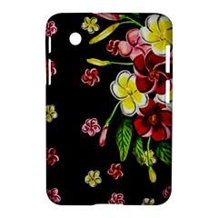 Floral Rhapsody Pt 2 Samsung Galaxy Tab 2 (7 ) P3100 Hardshell Case  by dawnsiegler