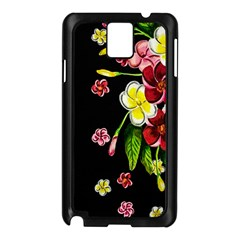 Floral Rhapsody Pt 2 Samsung Galaxy Note 3 N9005 Case (black) by dawnsiegler