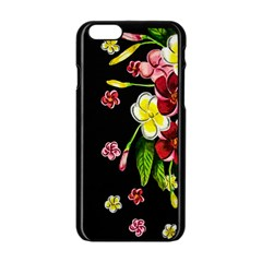 Floral Rhapsody Pt 2 Apple Iphone 6/6s Black Enamel Case by dawnsiegler