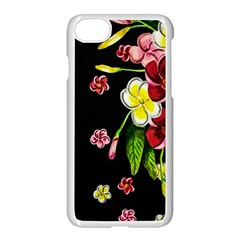 Floral Rhapsody Pt 2 Apple Iphone 7 Seamless Case (white) by dawnsiegler