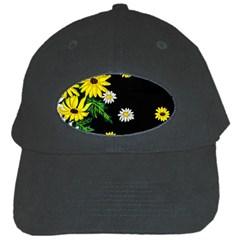 Floral Rhapsody Pt 3 Black Cap by dawnsiegler