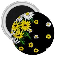 Floral Rhapsody Pt 3 3  Magnets by dawnsiegler