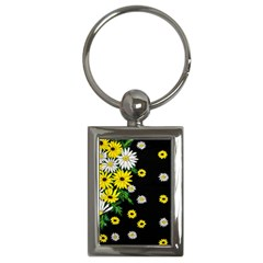 Floral Rhapsody Pt 3 Key Chains (rectangle)  by dawnsiegler