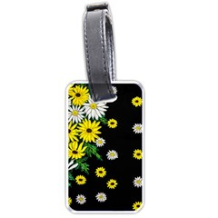 Floral Rhapsody Pt 3 Luggage Tags (one Side)  by dawnsiegler