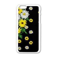 Floral Rhapsody Pt 3 Apple Iphone 6/6s White Enamel Case by dawnsiegler