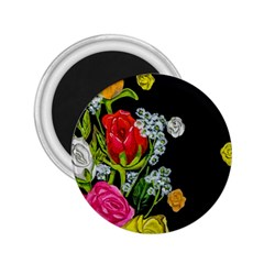 Floral Rhapsody Pt 4 2 25  Magnets by dawnsiegler