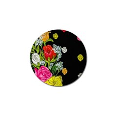 Floral Rhapsody Pt 4 Golf Ball Marker (10 Pack) by dawnsiegler