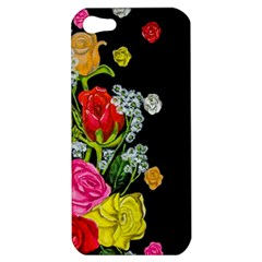 Floral Rhapsody Pt 4 Apple Iphone 5 Hardshell Case by dawnsiegler
