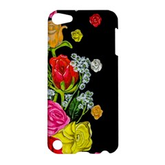 Floral Rhapsody Pt 4 Apple Ipod Touch 5 Hardshell Case by dawnsiegler
