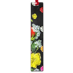 Floral Rhapsody Pt 4 Large Book Marks by dawnsiegler