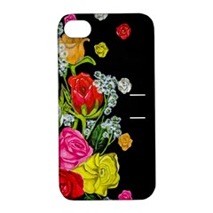 Floral Rhapsody Pt 4 Apple Iphone 4/4s Hardshell Case With Stand by dawnsiegler
