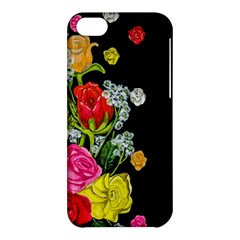 Floral Rhapsody Pt 4 Apple Iphone 5c Hardshell Case by dawnsiegler