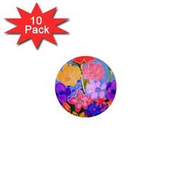 Spring Pastels 1  Mini Magnet (10 Pack)  by dawnsiegler