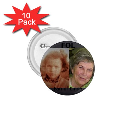 Lindabutton1 By Nancy Player   1 75  Button (10 Pack)    Udbkfh5l33mx   Www Artscow Com Front