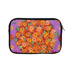 Floral Sphere Apple Ipad Mini Zipper Cases by dawnsiegler